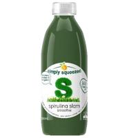 Simply Squeezed Spirulina Slam Smoothie 800ml
