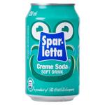 Sparletta Creme Soda Soft Drink 300ml