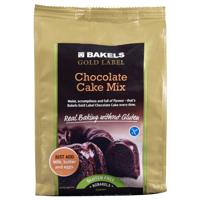 Bakels Gluten Free Gold Label Chocolate Cake Mix 500g