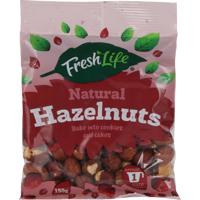 Fresh Life Natural Hazelnuts 150g