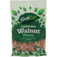 Fresh Life Californian Walnut Pieces 150g