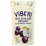 Viberi New Zealand Organic Blackcurrant Berries 100g