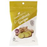 Ceres Organics Crystallised Ginger 125g
