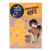 Molly Woppy Handmade Gingerbread Kids Iced Artisan Cookies 125g