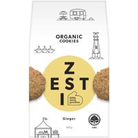 Zesti Ginger Organic Cookies 180g