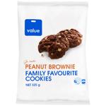Value Peanut Brownie Cookie 325g