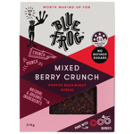 Blue Frog Mixed Berry Crunch Popped Buckwheat Cereal 270g