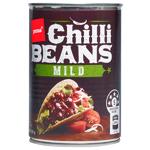 Pams Chilli Beans Mild 425g
