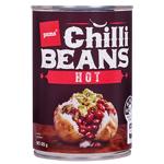 Pams Chilli Beans Hot 425g