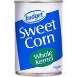 Value Whole Kernel Corn 410g