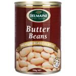 Delmaine Butter Beans In Brine 390g