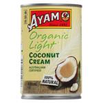 Ayam Light Organic Coconut Cream 400ml