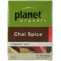 Planet Organic Chai Spice Organic Tea 25ea