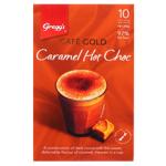 Gregg's Cafe Gold Caramel Hot Chocolate Sachets 10pk