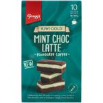 Gregg's Kiwi Gold Mint Choc Latte 180g