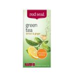 Red Seal Green Tea Lemon & Ginger Bags 25ea