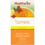 Healtheries Turmeric Lemon Tea Bags 20ea