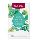 Red Seal Mint & Matcha Tea Bags 20ea