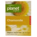 Planet Organic Chamomile Organic Herbal Tea Bags 25ea