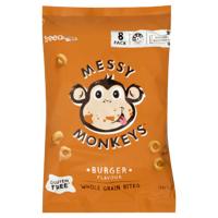 Freedom Foods Messy Monkeys Burger Wholegrain Bites 160g
