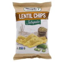 Simply 7 Jalapeno Lentil Chips 113g