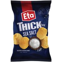 Eta Thick Cut Sea Salt Potato Chips 150g