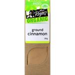 Mrs Rogers Organic Ground Cinnamon 30g