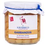 El Navarrico Garbanzos (Chickpeas) 325g