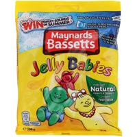 Maynards Bassetts Jelly Babies Confectionery 190g