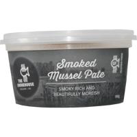 The Smokehouse Smoked Mussel Pate 190g