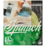 Rebel Bakehouse Spinach Wraps 8ea