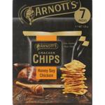 Arnott's Honey Soy Chicken Cracker Chips Multi Pack 126g