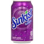 Sunkist Grape Soda 355ml