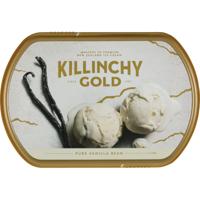 Killinchy Gold Pure Vanilla Bean New Zealand Ice Cream 1l