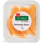 Pams Cut Fruit Sliced Rockmelon 400g