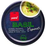 Pams Basil Hummus 200g