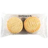 Baker Boys Shortbread Biscuits 6ea
