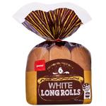 Pams Long White Rolls 6ea