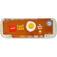 Pams Size 7 Cage Free Barn Eggs 12ea