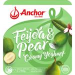 Anchor Feijoa & Pear Creamy Yoghurt 4ea