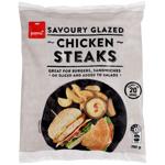 Pams Savoury Glazed Chicken Steaks 700g