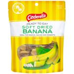 Cinderella Soft Dried Banana 125g