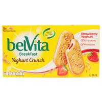 Belvita Biscuits Strawberry Yoghurt Crunch 253g (50.6g x 5pk)