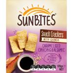 Sunbites Caramelised Onion & Balsamic Snack Crackers 120g