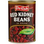 Delish Red Kidney Beans 400g
