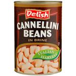 Delish Cannellini Beans 400g