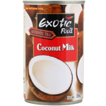 Exotic Food Authentic Thai Coconut Milk 160ml