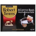 Robert Timms Mocha Kenya Style Coffee Bags 8pk