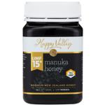 Happy Valley Manuka Honey UMF 15+ 500g