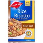 Diamond Rice Risotto Rice Dish Roast Beef 200g